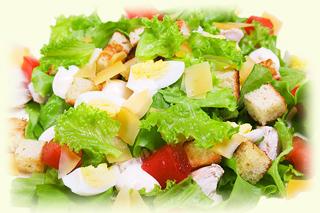 рецепт салата цезарь пошагово с фото с курицей